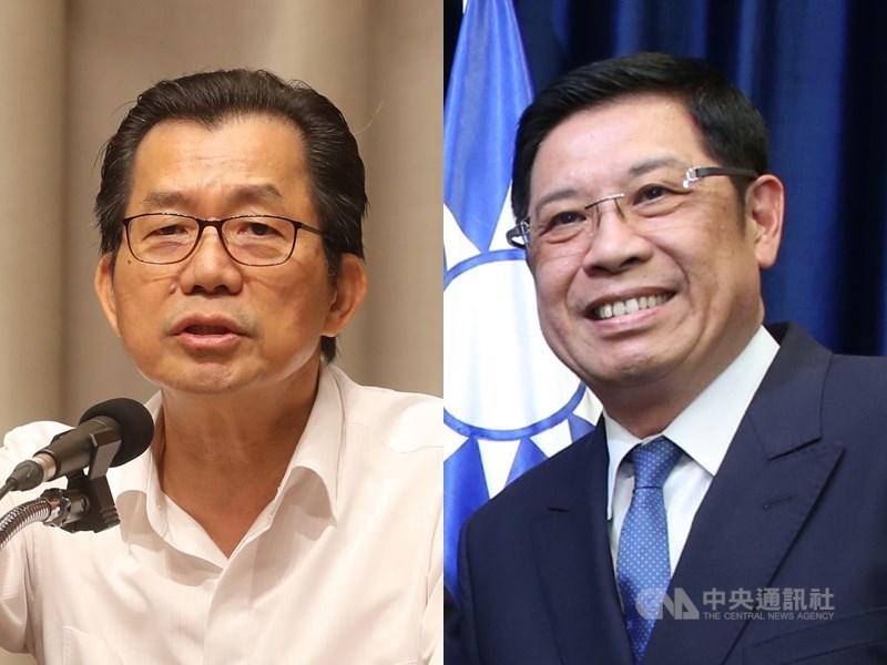 總統府10日公告總統令,特任李應元(左)為駐泰國大使、特任李南陽(右)為駐斯洛伐克大使。(中央社檔案照片)