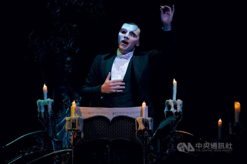 百老匯音樂劇「歌劇魅影」將4度訪台,11月19日起到12月6日演出,地點在台北小巨蛋。(寬宏藝術提供)中央社記者趙靜瑜傳真 109年6月17日