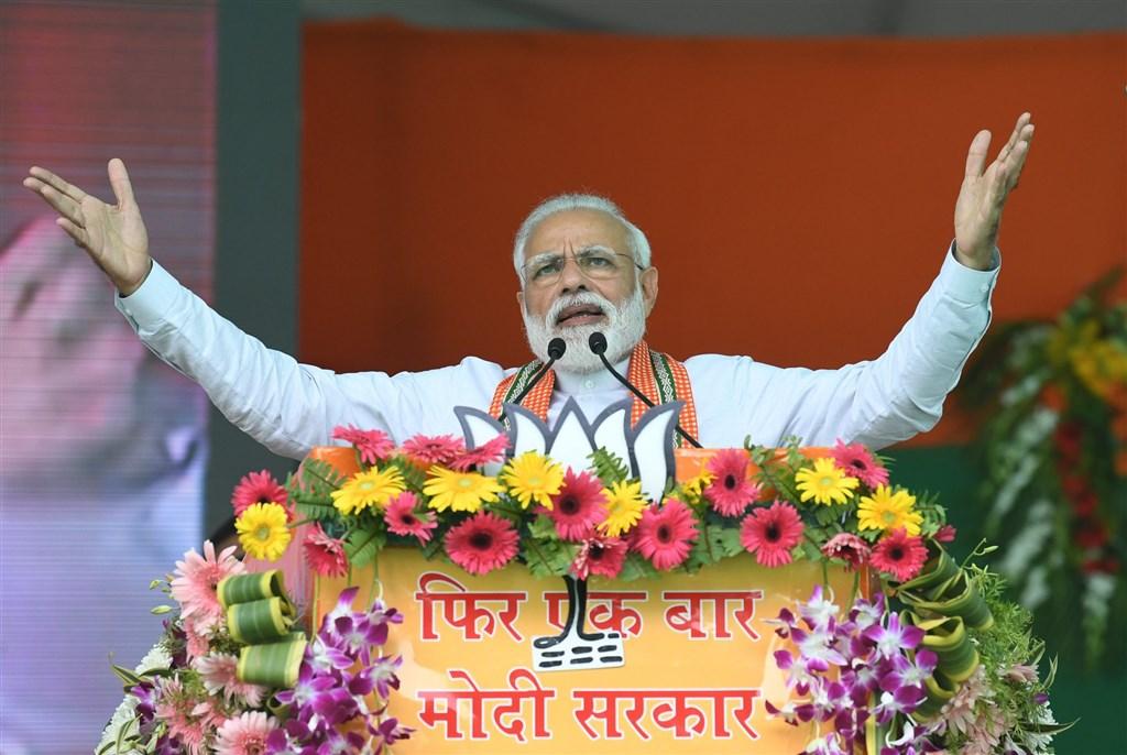 中印兩國部隊15日在邊界爆發衝突,導致20名印度軍人喪命。印度總理莫迪(圖)表示,這些印度軍人不會「白白犧牲」。(圖取自facebook.com/narendramodi)