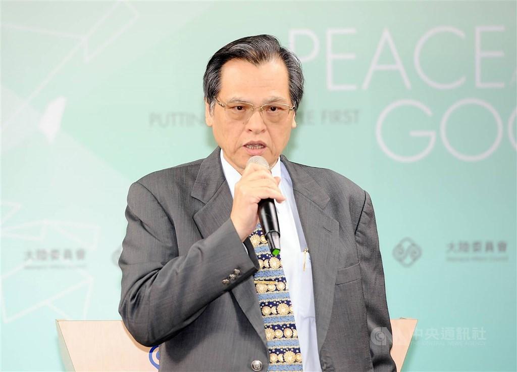 大陸委員會宣布,18日下午4時將在陸委會例行記者會說明「香港人道援助關懷行動專案」,由主任委員陳明通主持說明。(中央社檔案照片)