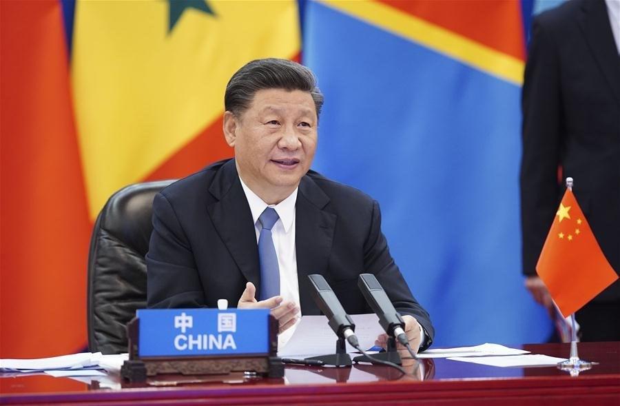中國國家主席習近平17日晚宣布,中國將在「中非合作論壇」架構下,免除對有關非洲國家截至2020年底到期的無息貸款債務。(圖取自中非合作論壇網頁www.focac.org)
