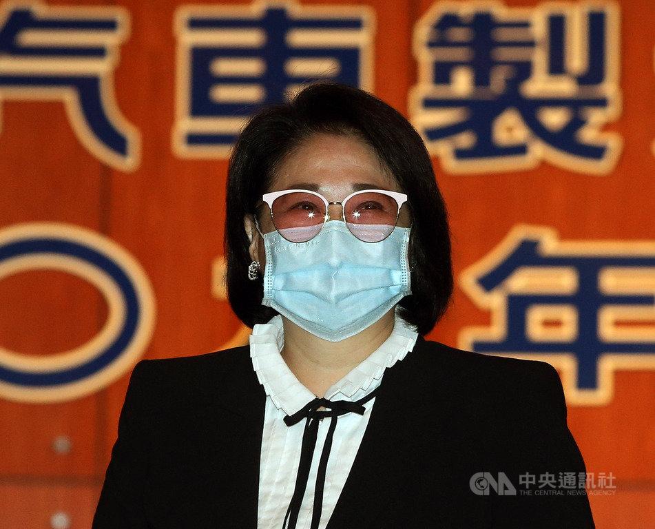 裕隆18日舉行股東常會,董事長嚴陳莉蓮表示,發展自主品牌將在開放平台新策略下,務實轉型再出發,為品牌路定調。中央社記者郭日曉攝  109年6月18日