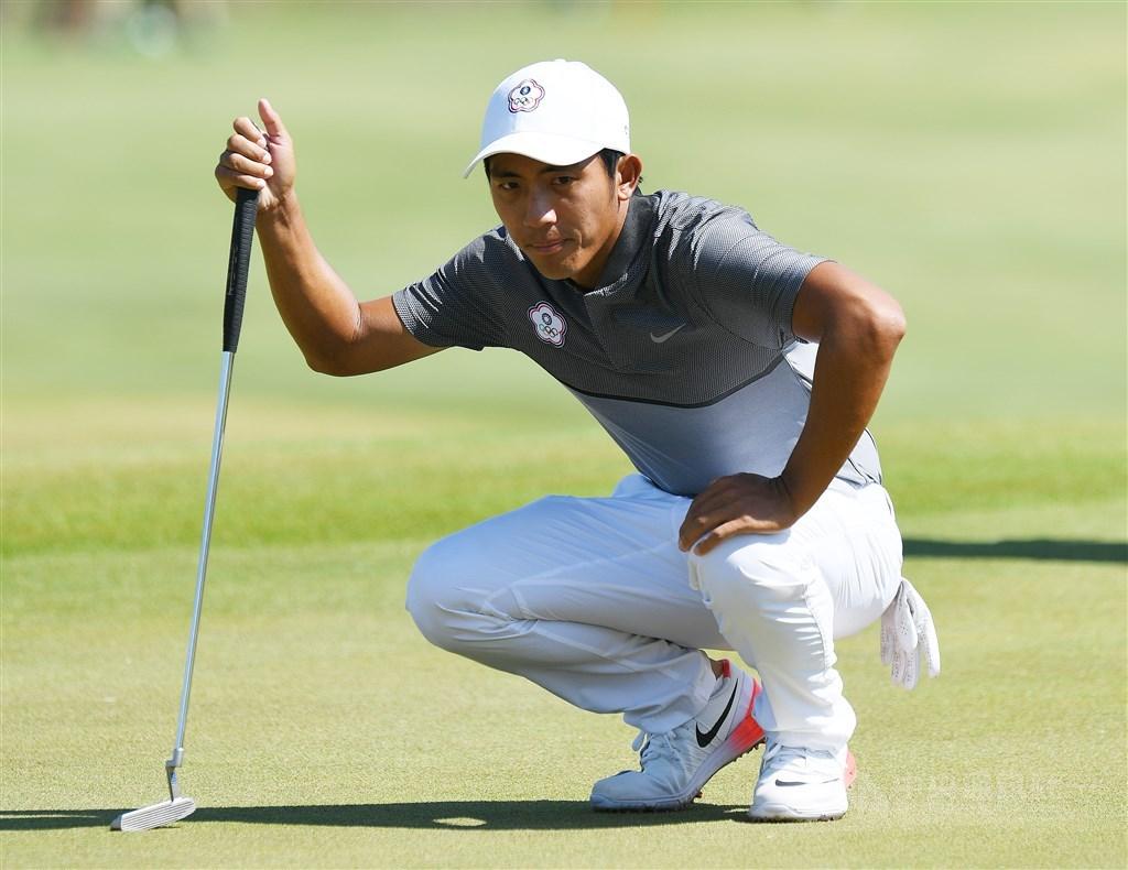 旅美高球好手潘政琮3日在美國職業高爾夫巡迴賽(PGA)桑德森農場錦標賽次輪,兩輪合計以低於標準5桿的139桿,暫並列第24名闖決賽,開季連3站晉級。(中央社檔案照片)