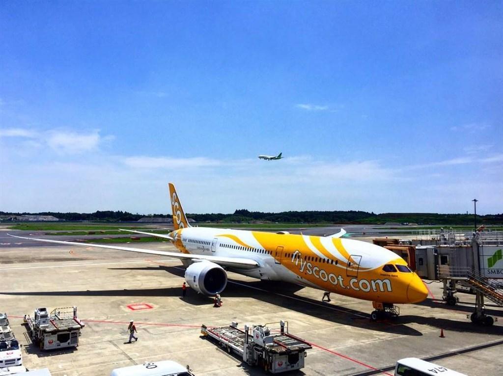 酷航宣布,自7月5日起復飛台北-新加坡航線。(圖取自facebook.com/FlyScootTW)