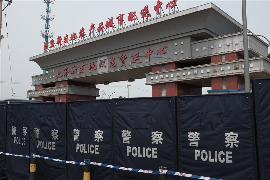 中國疾控官員22日表示,北京新發地批發市場疫情已近尾聲。(檔案照片/中新社提供)
