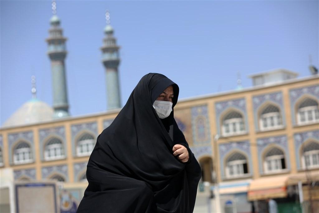 伊朗衛生部26日通報,過去24小時境內新增109起武漢肺炎死亡病例,這是連續第8天單日新增逾100人不治。(安納杜魯新聞社提供)
