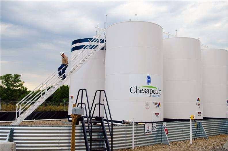 美國天然氣巨擘切薩皮克能源公司不敵沈重債務與疫情衝擊能源市場,28日依據美國破產法第11章聲請破產保護。(圖取自facebook.com/Chesapeake)