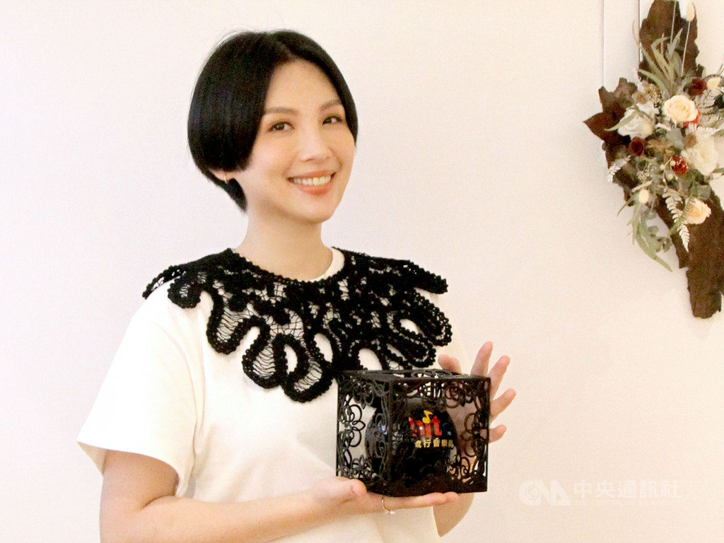2020 hito流行音樂獎30日以影片方式公布得獎名單,歌手魏如萱獲得「hito女歌手」等4獎項,讓她相當感動。(Hit Fm聯播網提供)中央社記者王心妤傳真 109年6月30日