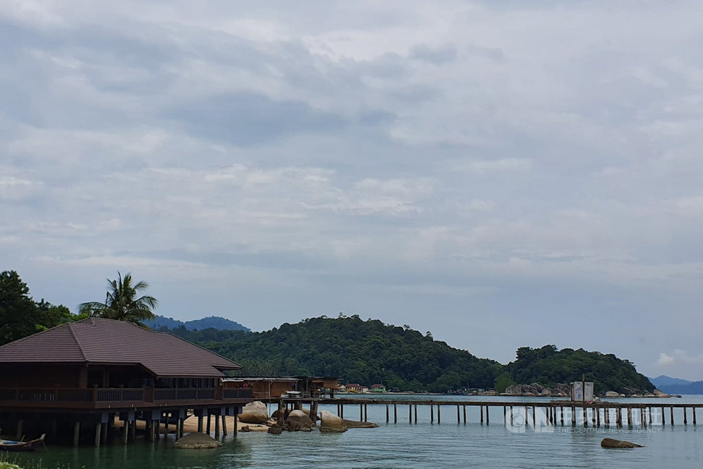 邦咯島曾被選為世界十大最美島嶼,只是隨著其他島嶼崛起而逐漸沒落。拍攝日期108年9月14日中央社記者郭朝河邦咯島攝 109年6月30日