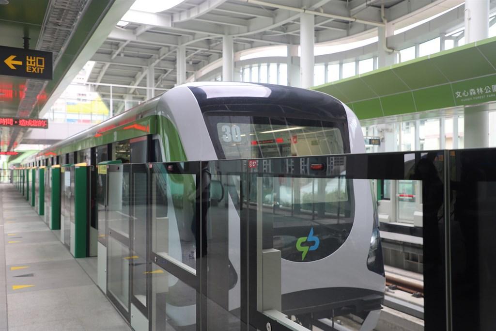 台中捷運綠線即將通車,交通部已經協調由台中市府主辦初勘作業,預計8月初勘。(台中捷運公司提供)中央社