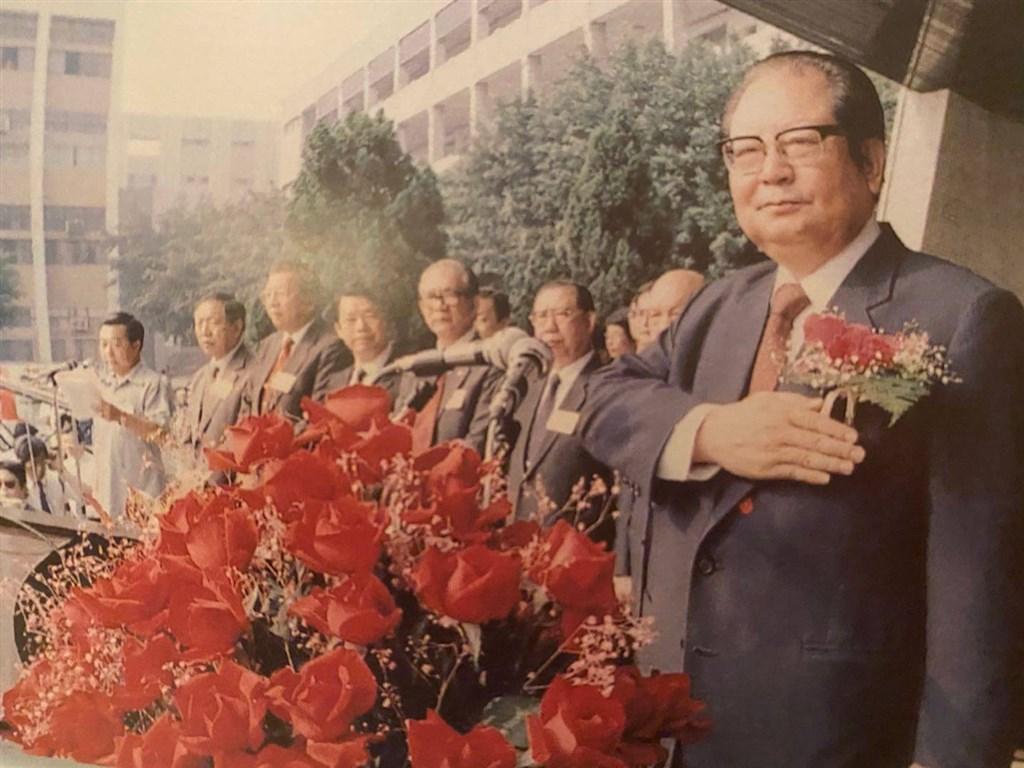 前考試院長邱創煥2日病逝,享耆壽96歲,曾擔任台灣省主席等要職。(邱佩琳提供)