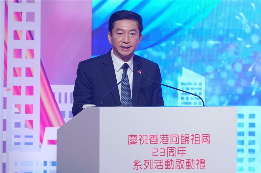 北京當局3日宣布駐香港國安機構人事任命,有分析指出,北京中央駐港聯絡辦公室主任駱惠寧(圖)將是駐港國安機構的領軍人物。(中新社提供)