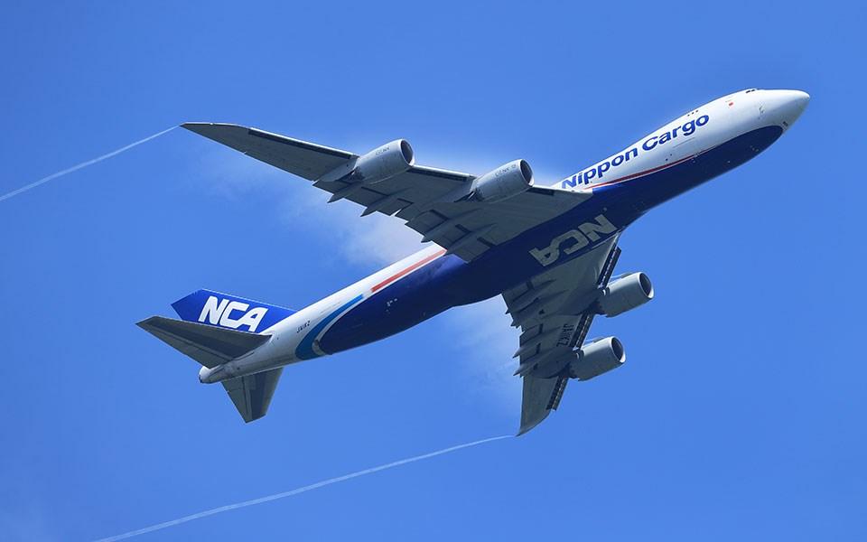 彭博報導,美國波音公司正悄悄讓747巨無霸客機步入停產。圖為波音一架747-8型飛機。(圖取自波音網頁boeing.com)