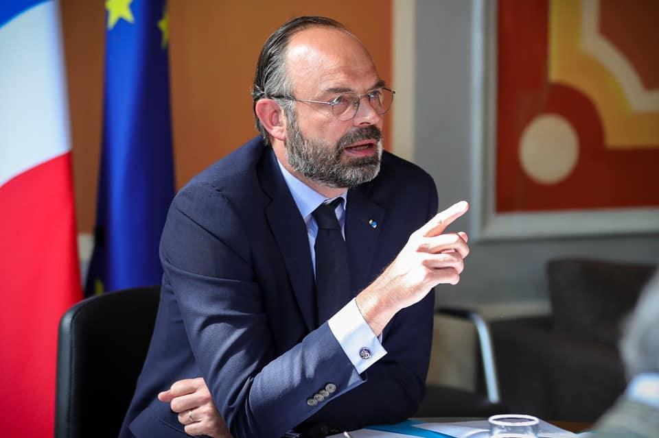 法國總理菲力普(圖)3日提出內閣總辭,總統馬克宏已經接受。(圖取自facebook.com/EdouardPhilippePM)