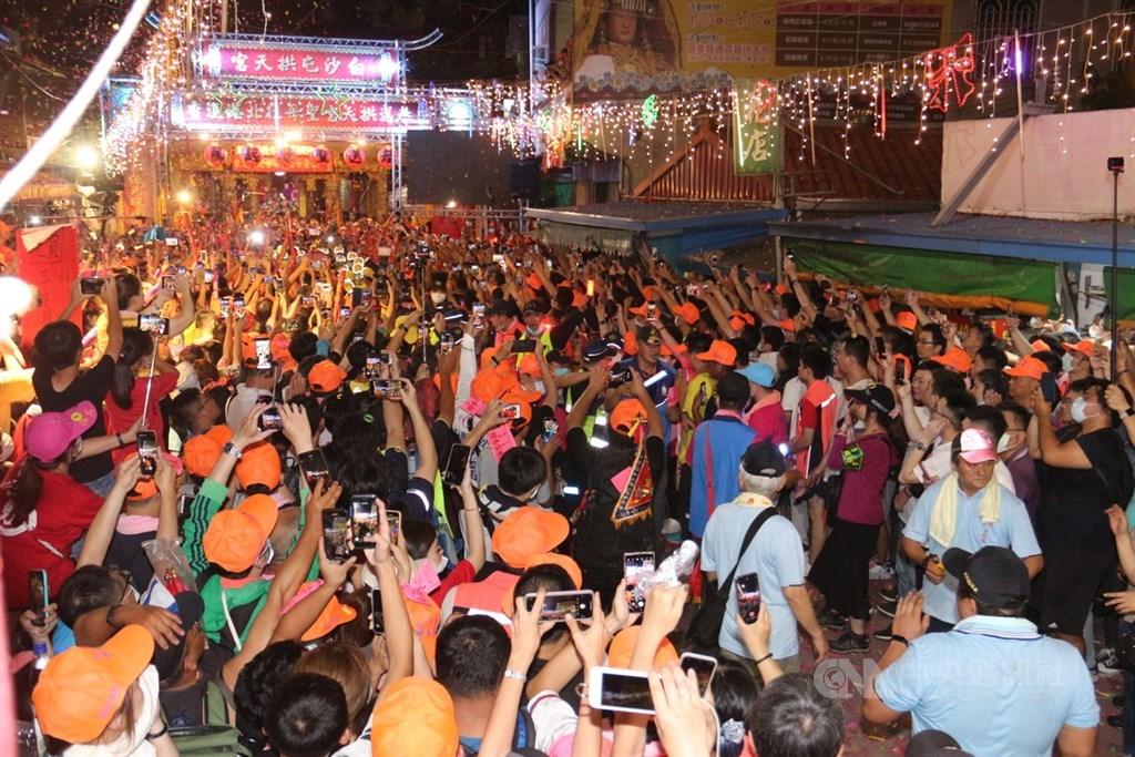 白沙屯媽祖徒步進香 北港8日起一連兩天有交管 | 生活 | 中央社 CN