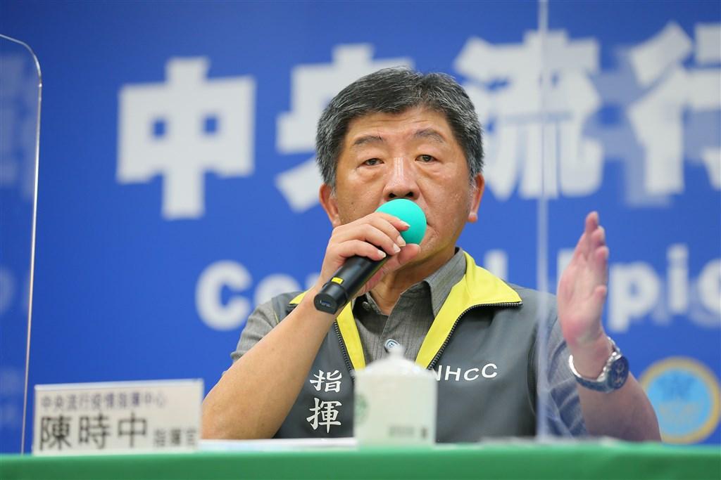 中央流行疫情指揮中心指揮官陳時中8日表示,中國大陸目前疫情仍處在不明朗情況,雖然對外公布的病例數有漸漸下降,但對於小區的管制或流動管制卻增強,這一點讓疫情判斷很困惑。(中央流行疫情指揮中心提供)中央社