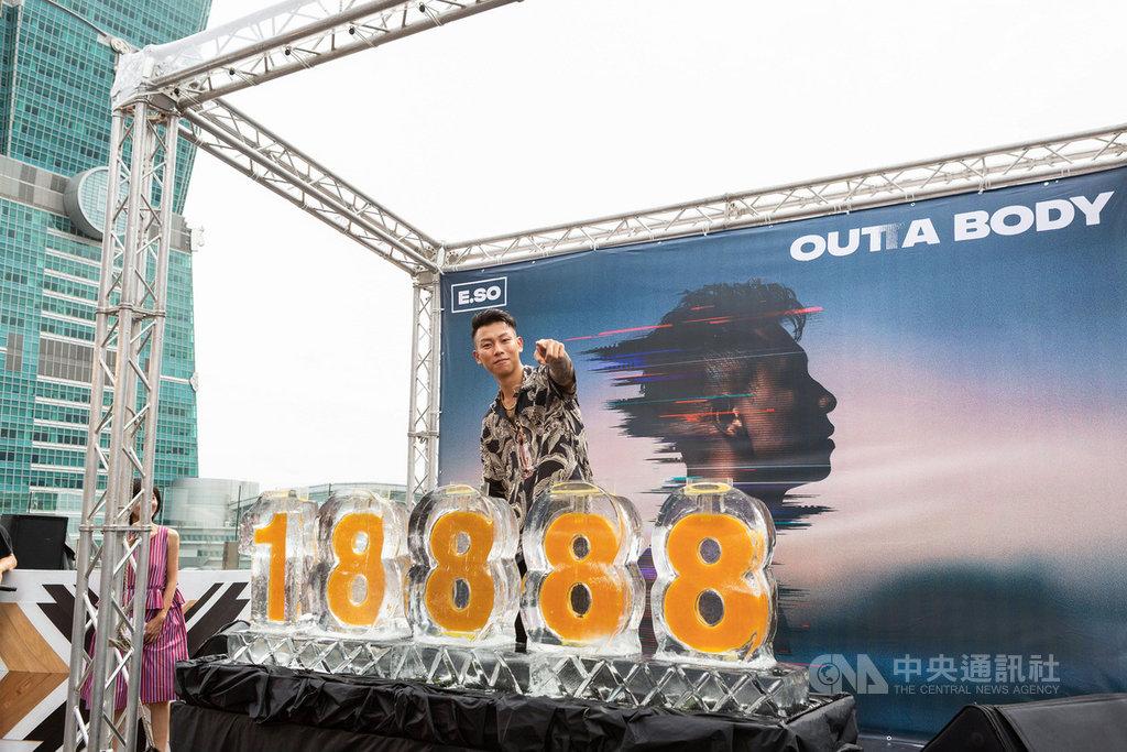 饒舌團體「頑童MJ116」成員「瘦子」9日在台北舉辦個人專輯「靈魂出竅OUTTA BODY」發片記者會,分享疫情期間所受影響。(本色音樂提供)中央社記者王心妤傳真 109年7月9日