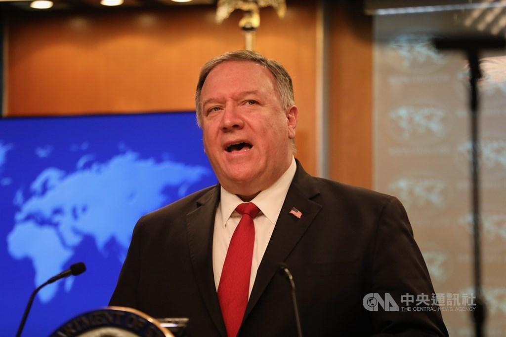美國國務卿蓬佩奧8日譴責中國對印度發動「侵略」,同時表示,中國又對印度盟國不丹挑起新的爭執。(中央社檔案照片)