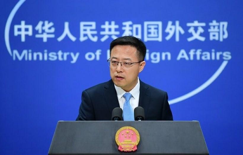 中國駐哈薩克大使館9日晚間稱哈薩克出現「不明肺炎」,但哈薩克10日稱消息不實。中國外交部發言人趙立堅對此表示,「中方也希望瞭解更多的資訊」。(圖取自twitter.com/zlj517)
