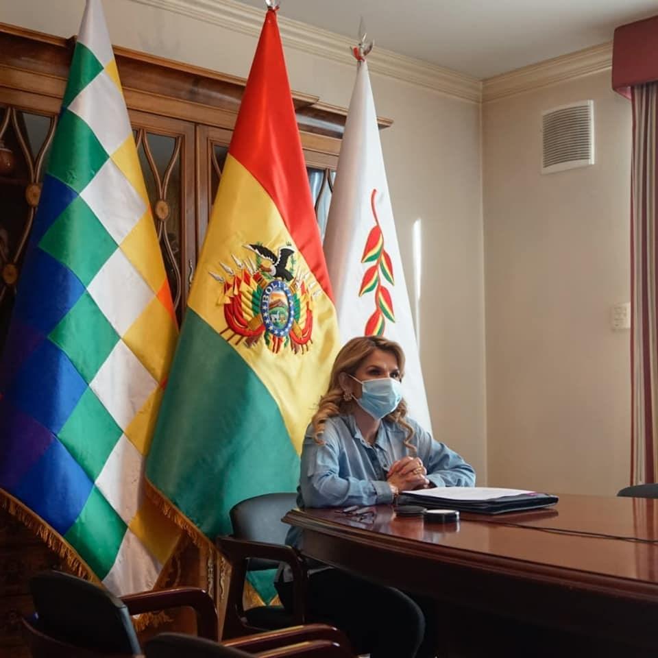 玻利維亞總統艾尼茲9日指出,她經檢測2019冠狀病毒疾病結果呈陽性反應。(圖取自facebook.com/jeanineanezc)