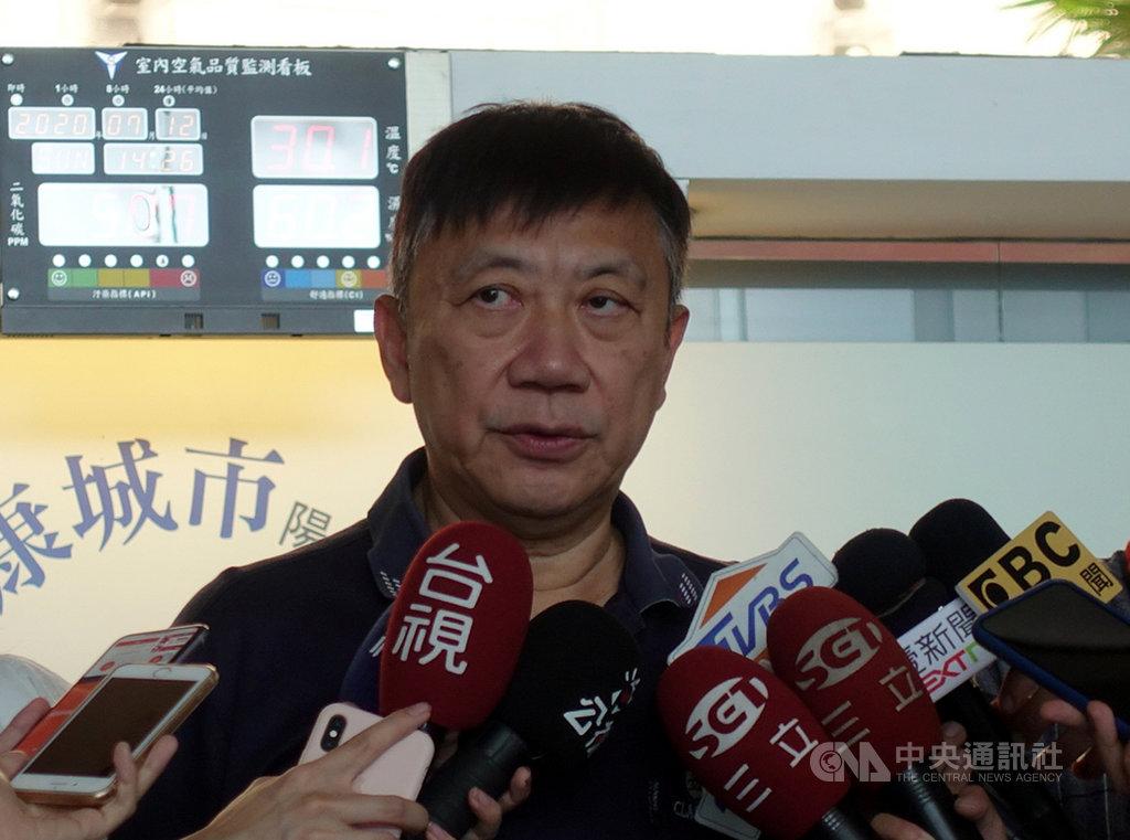 台北市社會局長劉志光(圖)12日表示,因健康因素,他二度向市長柯文哲請辭,最終獲准,預計7月中旬生效。中央社記者梁珮綺攝 109年7月12日