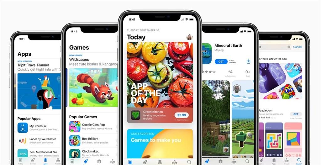 蘋果公司將於2020年秋季推出iOS 14等新版作業系統,包含多項隱私強化功能,例如在App Store頁面將要求開發者揭露會搜集用戶哪些數據。(圖取自蘋果公司網頁apple.com)