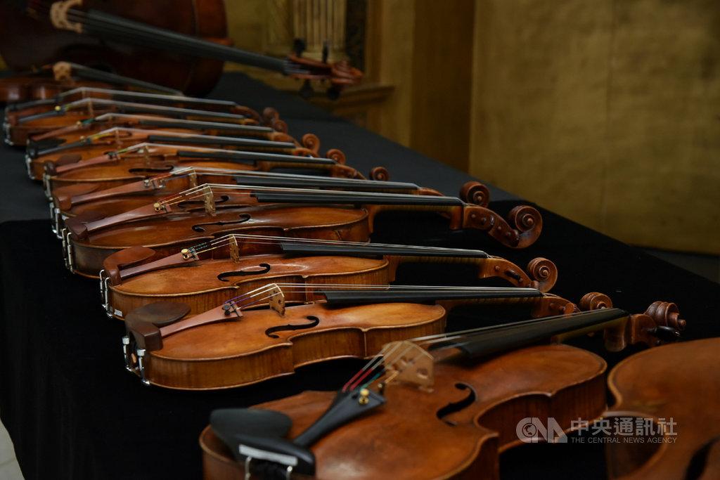 奇美博物館將於8月起舉辦奇美樂展「貝多芬音樂節」,館方典藏的許多大師級名琴,將搭配知名音樂家與國立台灣交響樂團輪番登台。(奇美博物館提供)中央社記者楊思瑞台南傳真 109年7月13日