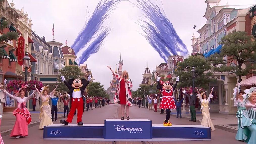 巴黎迪士尼樂園因疫情關閉4個月後,15日重新開放。(圖取自facebook.com/DisneylandParis)