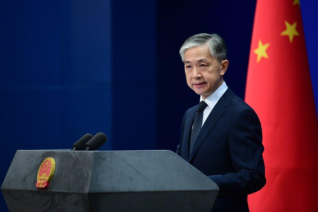 對於當前美國高層官員將中共與中國區分看待,中國外交部發言人汪文斌20日說,「中國共產黨領導是中國特色社會主義最本質的特徵、是中國發展振興的根本保障」。(中新社)