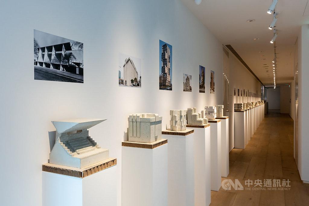 「SOS拯救混凝土之獸!粗獷主義建築展」為忠泰美術館與德國建築博物館(DAM)共同籌劃,以德國2017年展開的同名展覽為基礎,是首度對1950至1970年代全球粗獷主義建築進行調查,並提出搶救保存倡議的國際展覽,即日起在忠泰美術館展出。(忠泰美術館提供)中央社記者鄭景雯傳真 109年7月21日