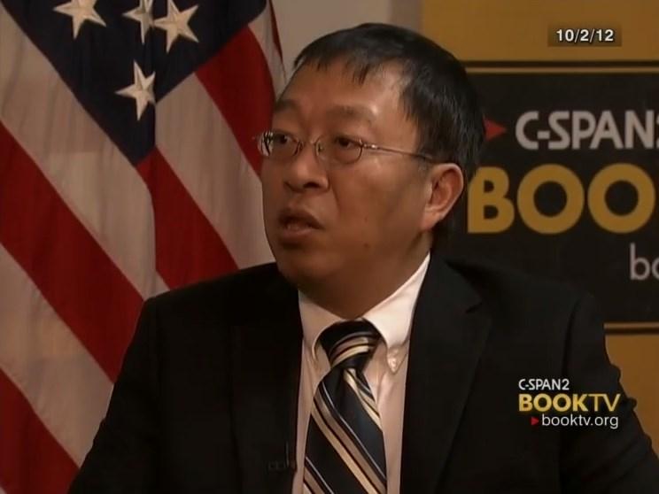 美國華裔學者余茂春(圖)被指是川普政府的中國政策重要智囊。(圖取自美國公共事務電視網頁c-span.org)