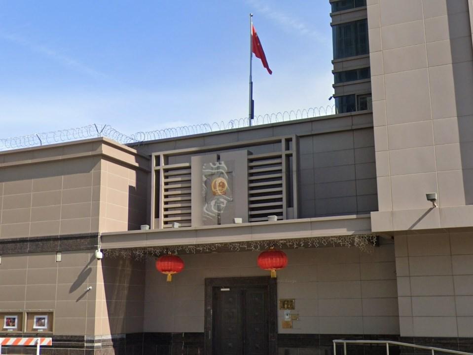 美國國務院22日表示,美方下令中國駐休士頓總領事館(圖)關閉,是為了保護美國人的智慧財產與個人資料。 (圖取自Google地圖網頁google.com/maps)