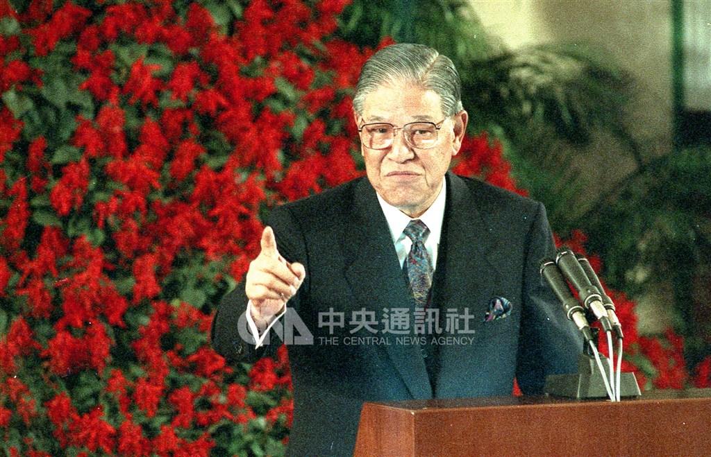 前總統李登輝1991年4月30日宣告自5月起終止實施了42年多的「動員戡亂時期」。(中央社檔案照片)