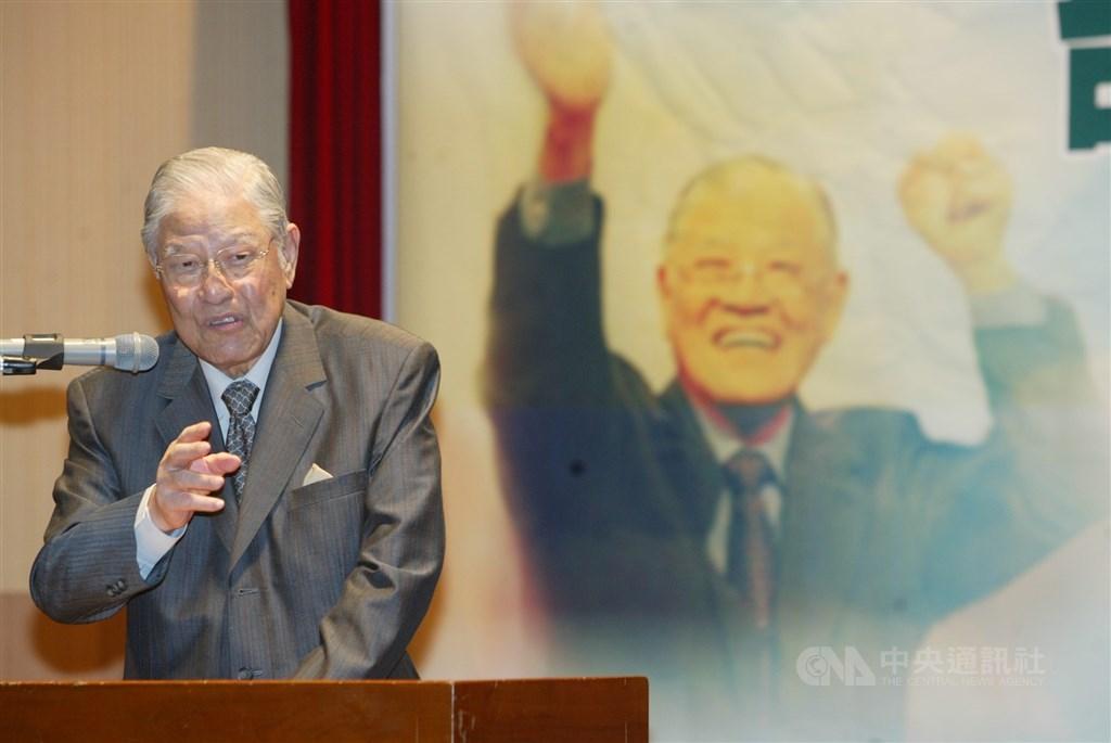 東京都知事小池百合子30日晚間在臉書貼文,對台灣前總統李登輝(圖)辭世表達哀悼之意。(中央社檔案照片)