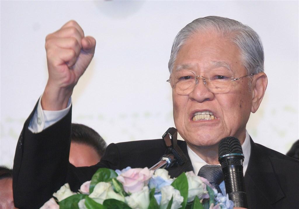 前總統李登輝30日晚間於台北榮總過世,享耆壽98歲。(中央社檔案照片)