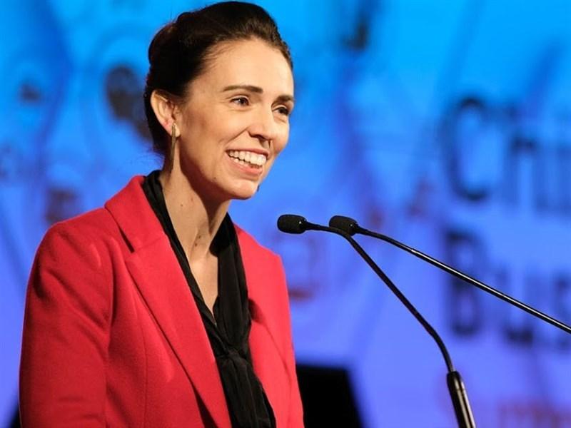 紐西蘭總理阿爾登20日表示,紐西蘭跟中國之間有3個歧見,包括港區國安法、新疆維吾爾族人的處境,以及台灣參與WHO。(圖取自中國商務峰會網頁chinabusinesssummit.co.nz)