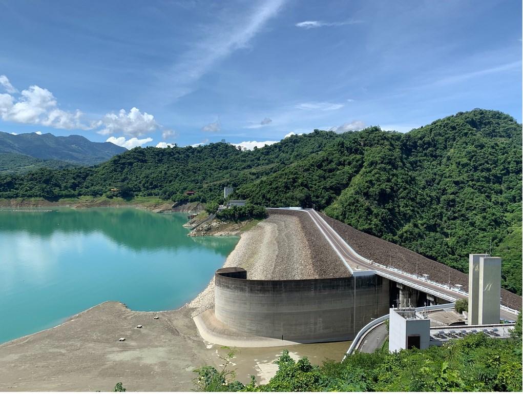 依中央氣象局資料顯示,今年台南市6月降雨量明顯偏少,曾文水庫蓄水量較歷年同期平均蓄水量為低,目前蓄水率約24.3%。(台南市政府提供)中央社記者張榮祥台南傳真 109年7月31日