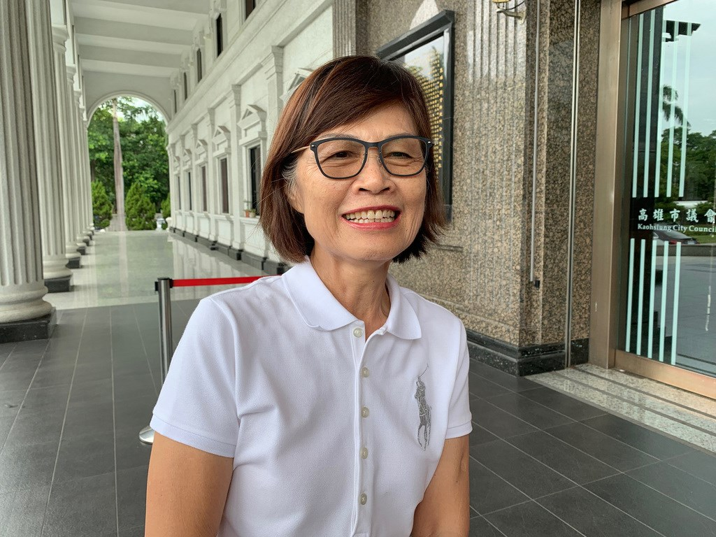 高雄市議會31日補選議長,中國國民黨的高雄市議員曾麗燕勝出。(中央社檔案照片)