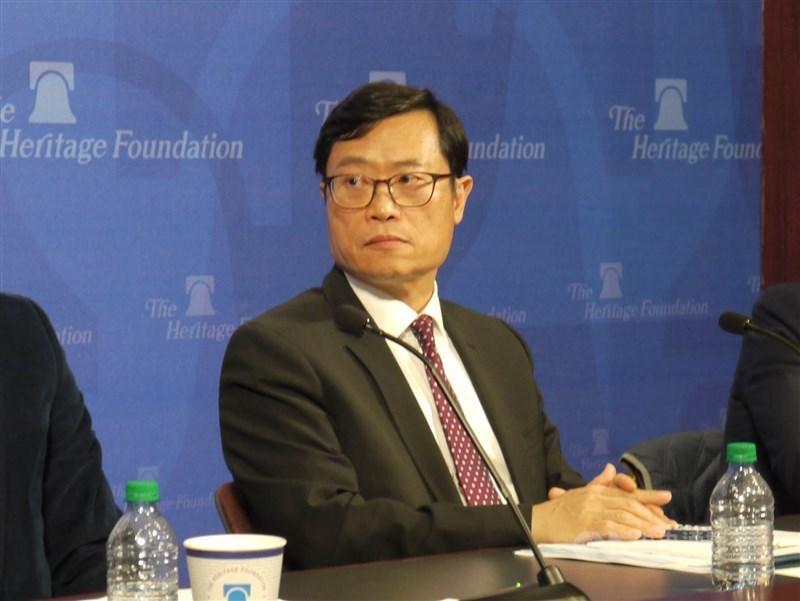 行政院31日核定,由今年3月甫接任國際貿易局長的陳正祺升任經濟部政務次長。(中央社檔案照片)