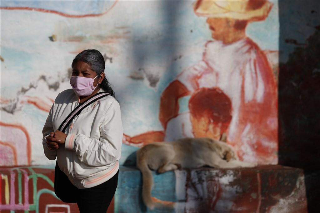 墨西哥7月31日超越英國,成為全球染疫死亡病例數第3高的國家。(美聯社)