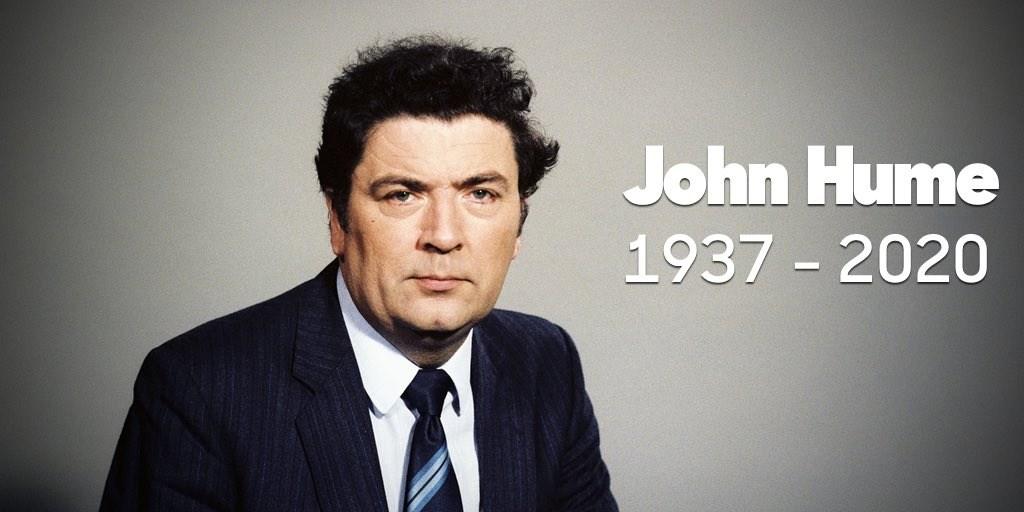 北愛爾蘭的社會民主勞工黨表示,北愛爾蘭和平進程主要里程碑「耶穌受難節協議」的主要擘劃者、1998年諾貝爾和平獎得主修姆3日辭世,享壽83歲。(圖取自twitter.com/SDLPlive)