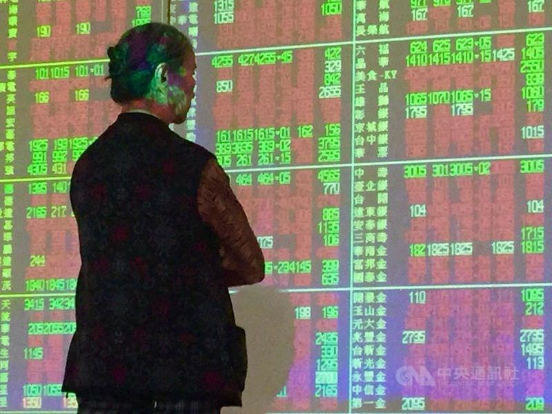 台股4日開盤漲64.85點,加權股價指數為12577.88點。(中央社檔案照片)