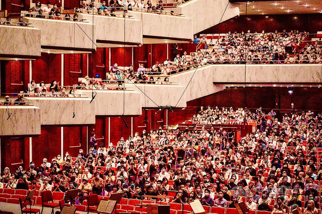 國家交響樂團(NSO)表示,NSO會與國表藝三場館的防疫措施同步,目前持續都有量體溫、戴口罩等舉措持續不間斷。(NSO國家交響樂團提供)中央社記者王心妤傳真 109年8月5日