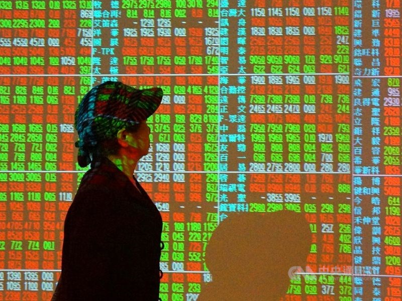 台股27日收盤漲42.60點,為15701.45點,漲幅0.27%。(中央社檔案照片)