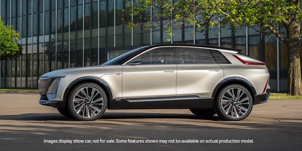 豪華汽車品牌凱迪拉克6日發表首款全電動車,這款電動休旅車Lyriq預計2022年量產。(圖取自twitter.com/Cadillac)