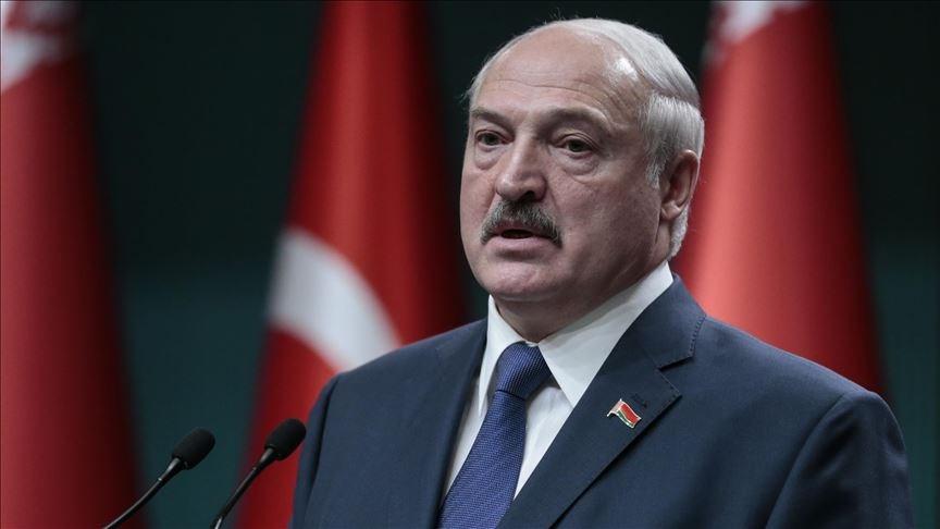 白俄羅斯中央選舉委員會表示,長期執政的強人總統魯卡申柯以80%得票率順利贏得連任。(安納杜魯新聞社)