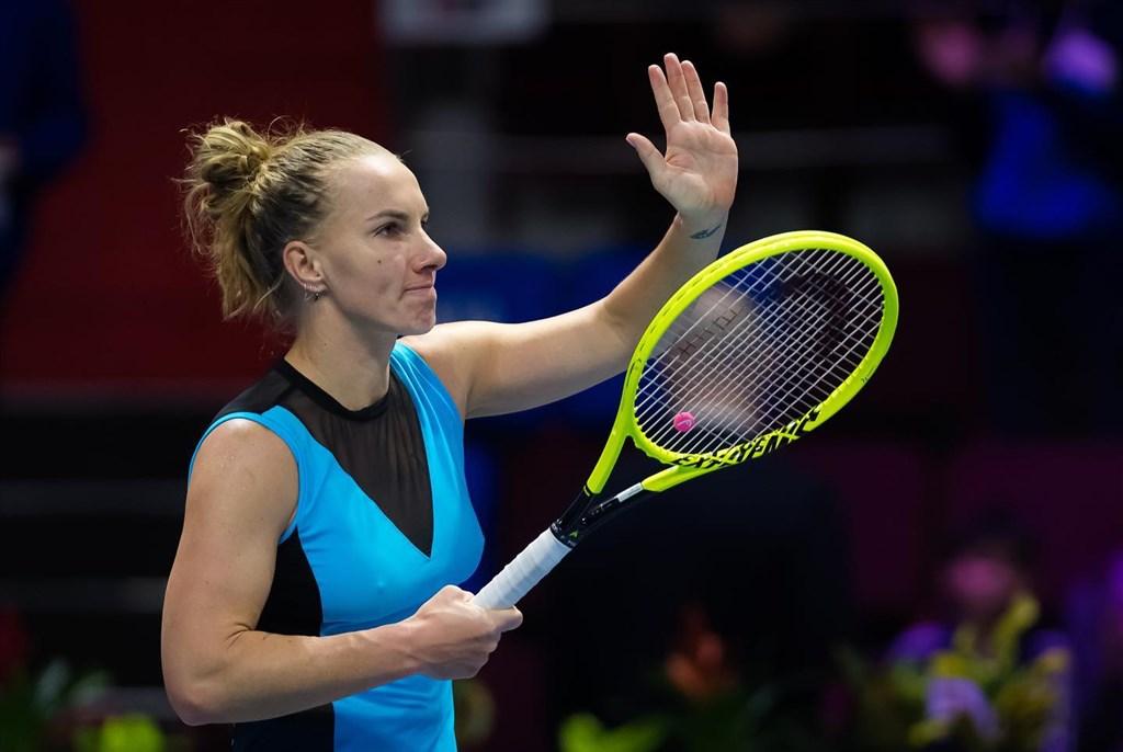 俄羅斯網球女將庫茲妮佐娃因擔心武漢肺炎疫情,宣布退出2020年的美國網球公開賽。(圖取自facebook.com/svetlanakuz27)