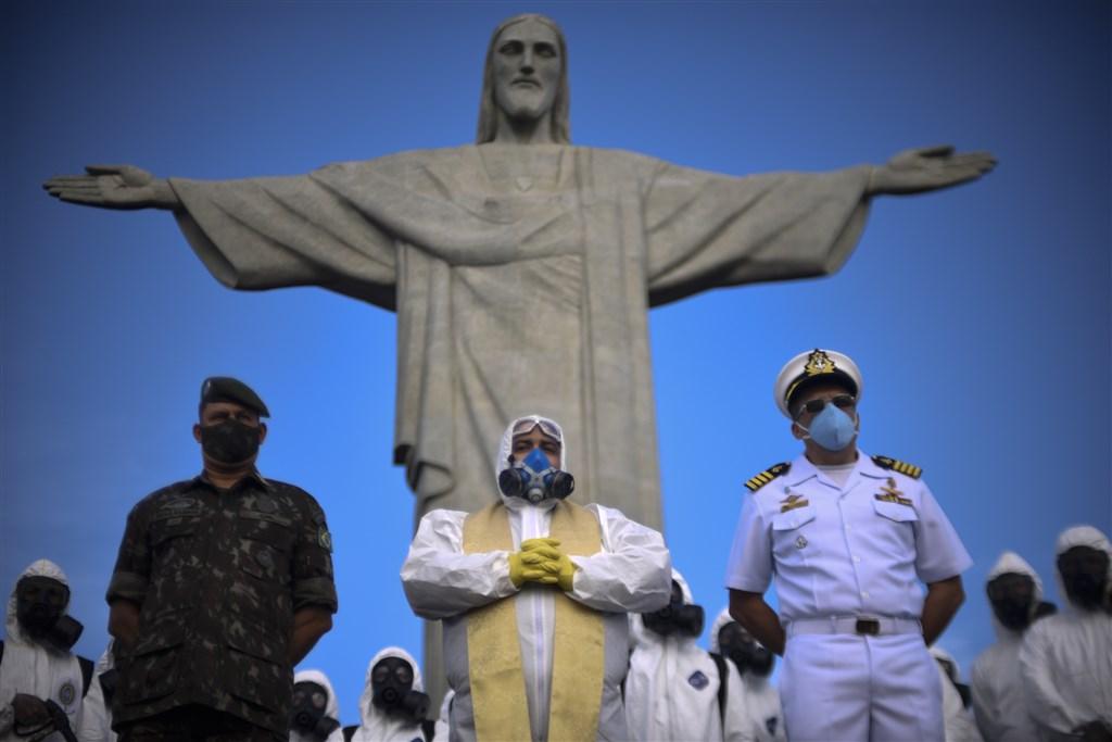 巴西武漢肺炎疫情蔓延,目前已累計超過346萬例確診,11.1萬人死亡。(安納杜魯新聞社)