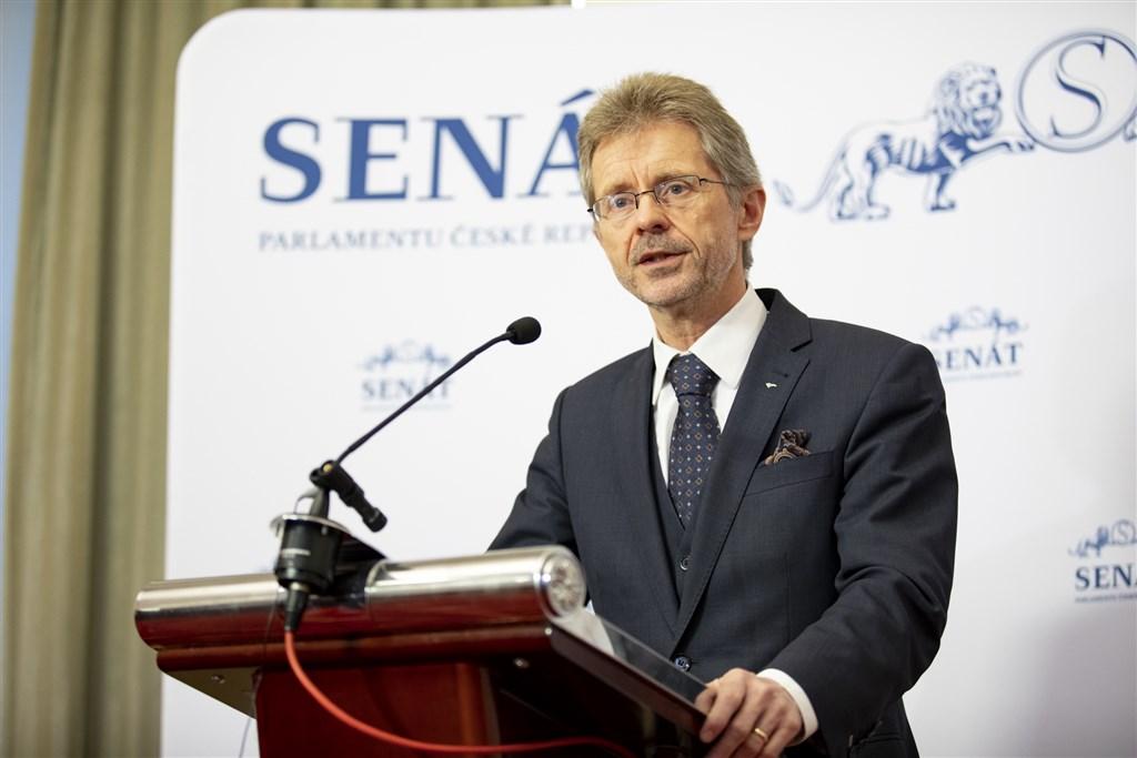 捷克參議院議長維特齊(圖)將於8月30日至9月4日率團訪台,總統蔡英文預計9月3日在總統府接見訪團。(圖取自twitter.comSenatCZ)