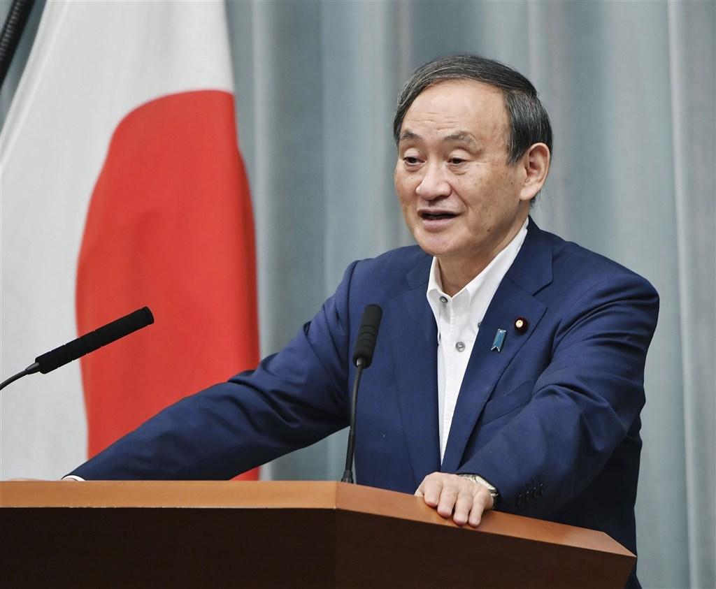 面對決定日本首相安倍晉三接班人的自民黨總裁(黨主席)選舉,內閣官房長官菅義偉預定2日宣布參選。(共同社)